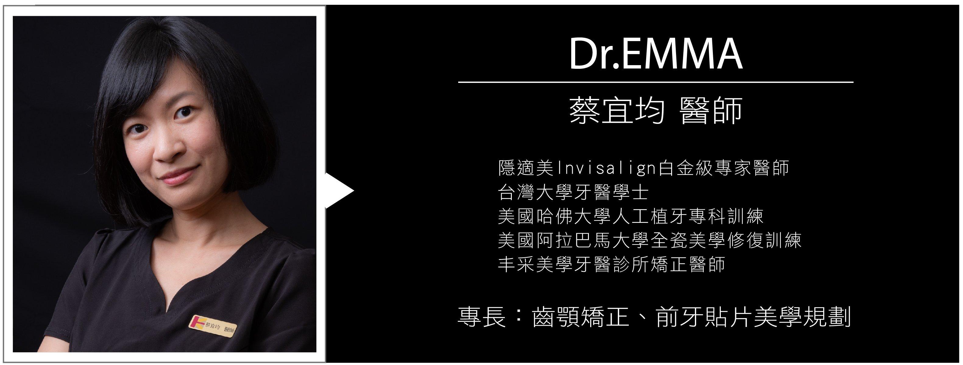 Dr.Emma蔡宜均醫師個人介紹與FB粉絲頁