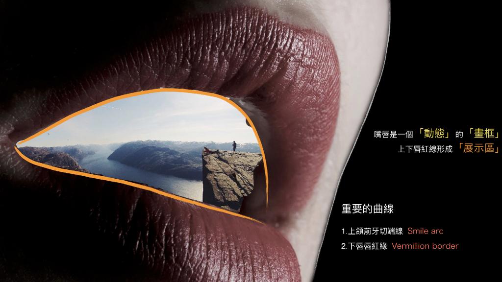 嘴唇框架與微笑曲線 馬永昌醫師